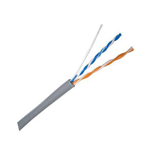2019 hot koop netwerkkabel 24awg ethernet kabel 2 paar utp cat5e kabel