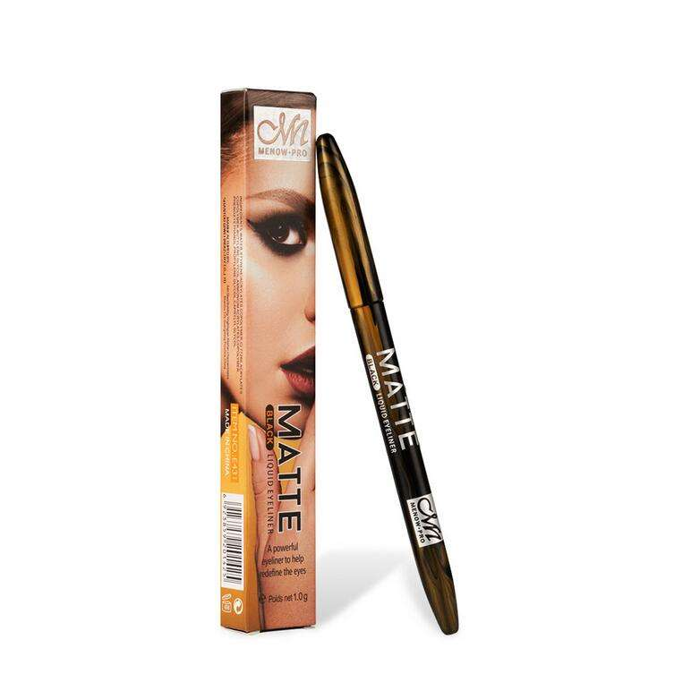Black Liquid Eyeliner Eye Make Up Super Waterproof Long Lasting Eye Liner Easy to Wear Eyes Makeup Cosmetics Tools