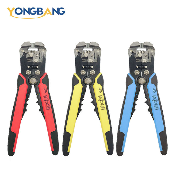 Self Adjusting Automatic cable wire stripping Cutting Plier With crimp terminal function