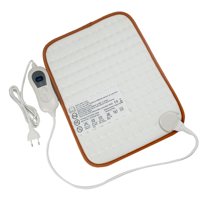 220V 40*30cm Super Cosy Fleece Pad Without Cover Timer Heating Pad