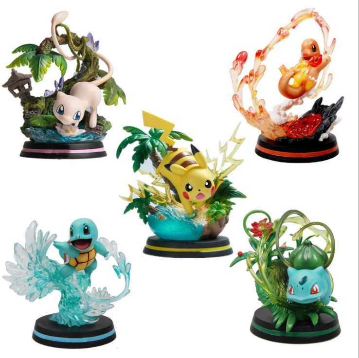 UFOGIFT Anime Figure High Quality Action Figures Monster Toys for Pokemon Kids Pokemon Action Figure