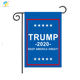 100%polyester Decorative Trump make American great again Garden flag