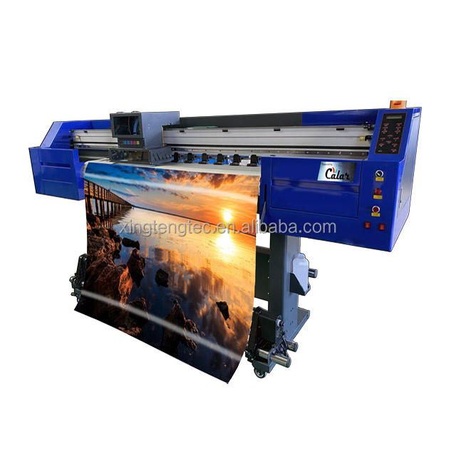 1.8m Roll to Roll Digital Inkjet XP600 Eco Solvent Printer DX5 Large Format Vinyl Poster Banner Printing Machine