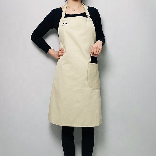 adjustable Screen Printing heat transfer vinyl custom embroidery Cotton Apron Full size painting Dyeing embroidery