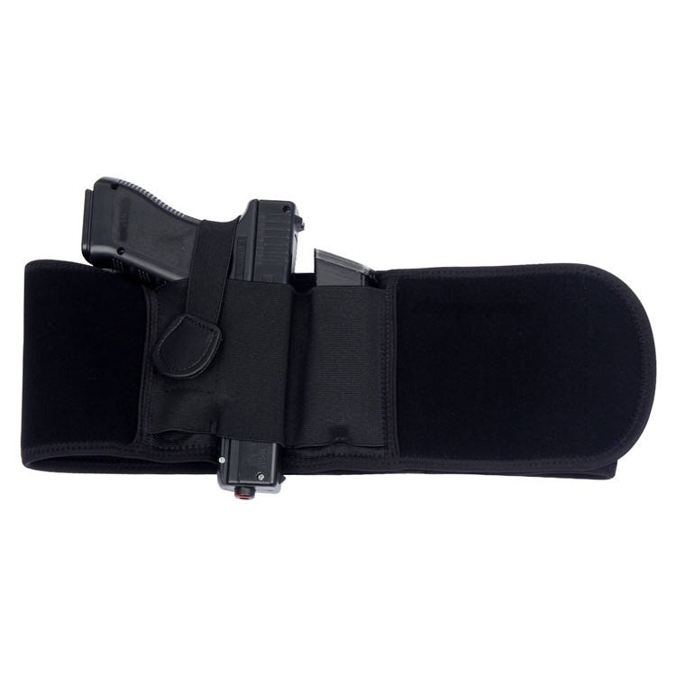 Tactical Concealed Belly Band Universal Pistol Holster Military Gun Carry Holster With Magazine Pouch Girdle Belt Shooting