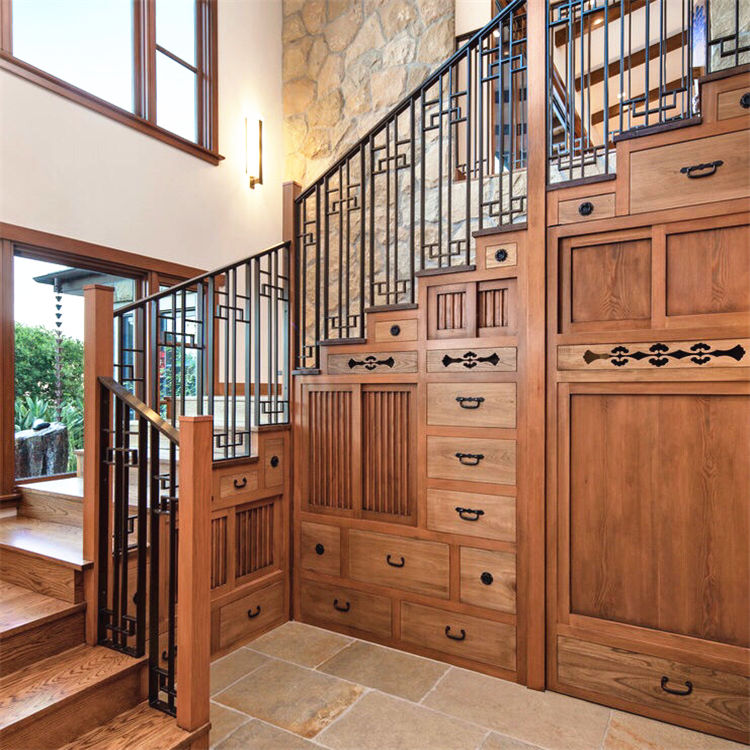 designer wooden stair balusters