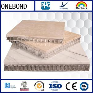 Marble Aluminum Honeycomb Panels for Construction Materials