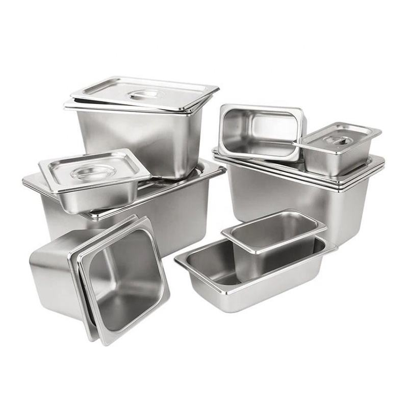 zhongte Other Hotel & Restaurant Supplies Stainless Steel Gastronorm Food Container GN Pan