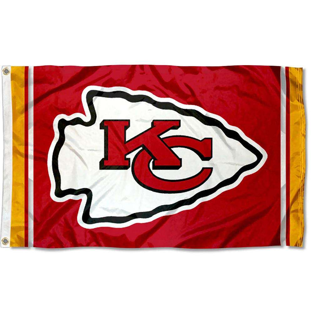 Kansas City Chiefs Kc Grote Nfl 3X5 <span class=keywords><strong>Vlag</strong></span>