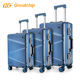 PC trolley luggage set with tsa lock hand custom hard shell travelling bags luggage suitcase sets