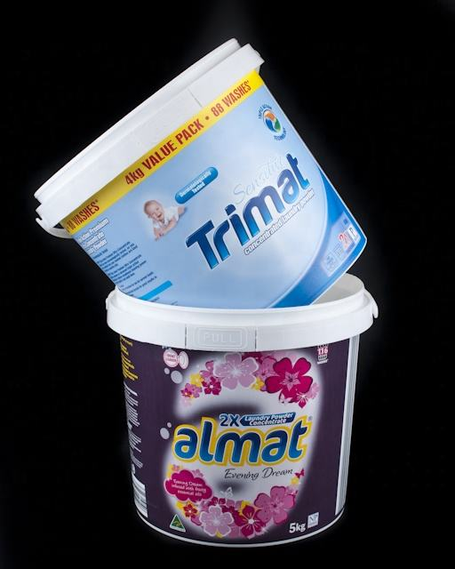 wholesale Food Grade 5 Litre Plastic Bucket/Pail suitable for food or diary and paint industry