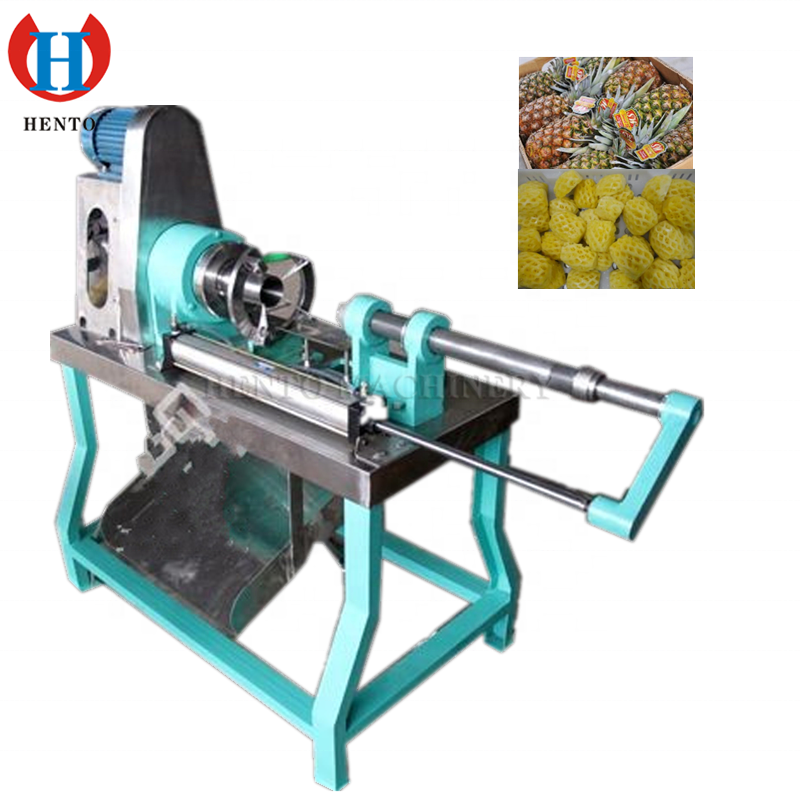 Easy Operation High Capacity Pineapple Cutter / Automatic Pineapple Peeler / Pineapple Corer Slicer Peeler Cutter