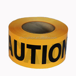 Factory Supply Plastic PVC No Adhesive Caution Tape