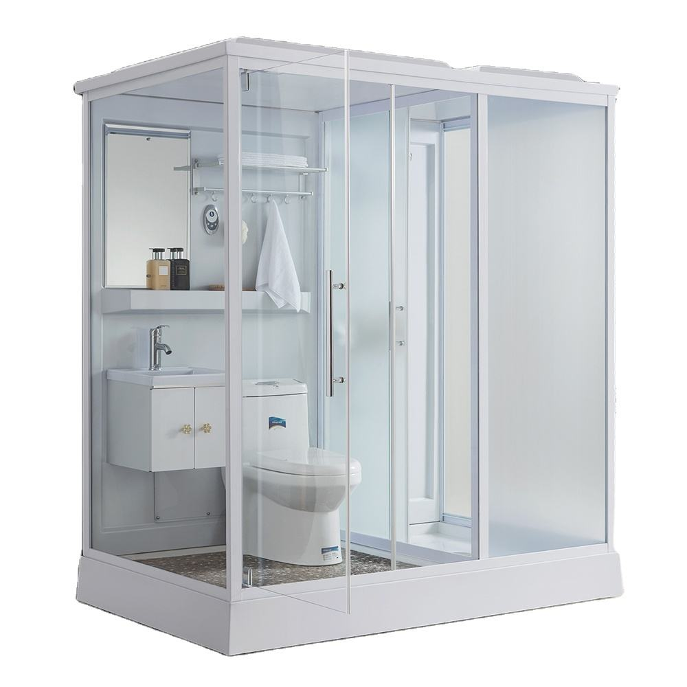 2020 New Style Product Prefab Bathroom With Toilet Modular Shower Room