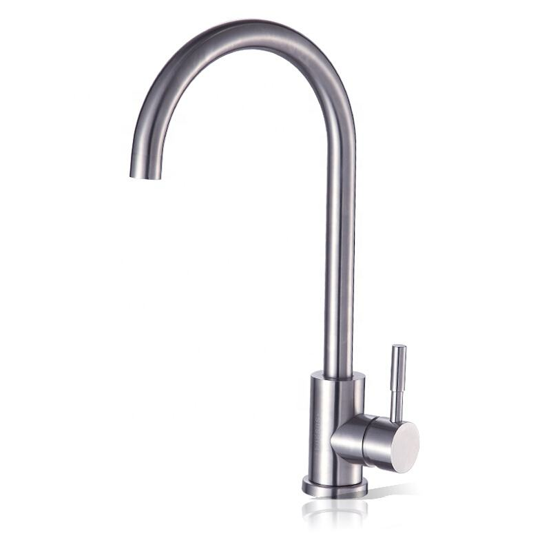 Faucet Vanities Single Hole Wash Sink 304 Stainless Steel Kitchen Faucets
