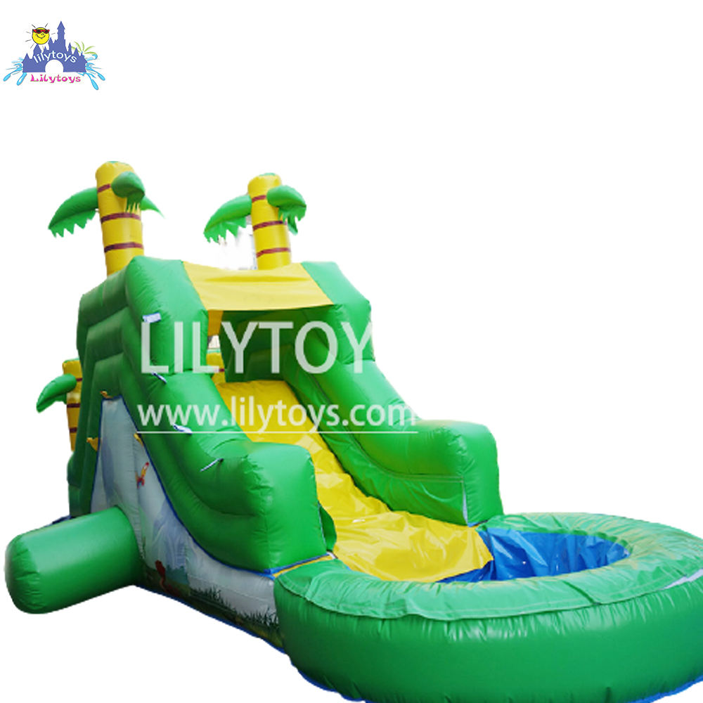 China Raksasa Inflatable Slide Komersial Inflatable_water_slides untuk Orang Dewasa