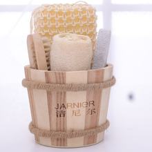 National Beautiful Natural Wooden Bucket-packed Spa Bath Set Mother's Day gift