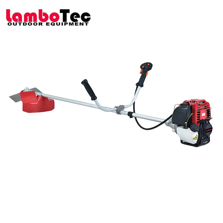 Lambotec 4 stroke brush cutter powered by Chinese GX35 brush cutter 4 stroke engine
