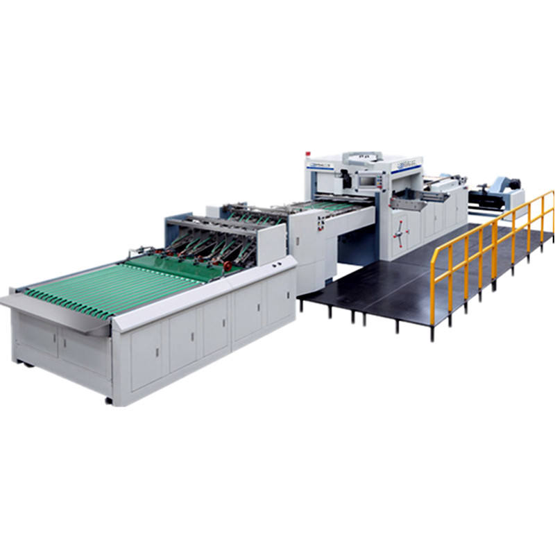 High speed automatic full-stripping roll die-cutting machine