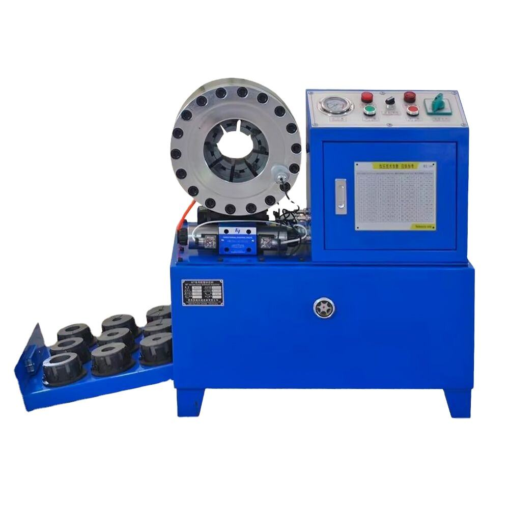 DX68 factory direct-sale machine press 2inch 4 wires braided hydraulic hose crimping machine