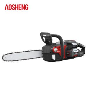 40V 16 Inch Motor Brushless Chain Saw 5.0Ah Standar Baterai Charger Cordless Gergaji Mesin