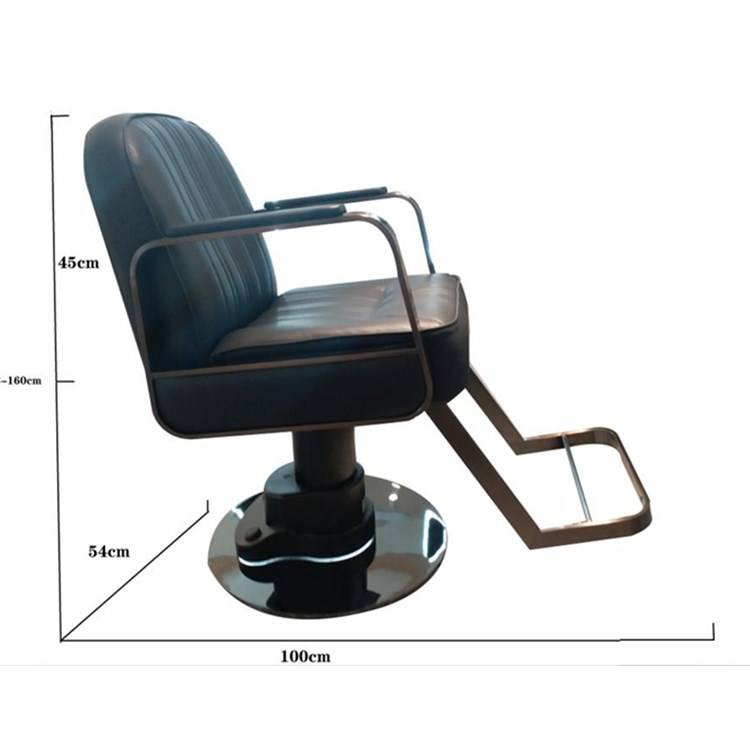 F-2094 Modern Hydraulic Hair Synthetic leather stainless steel armrest sale used Salon barber Chair