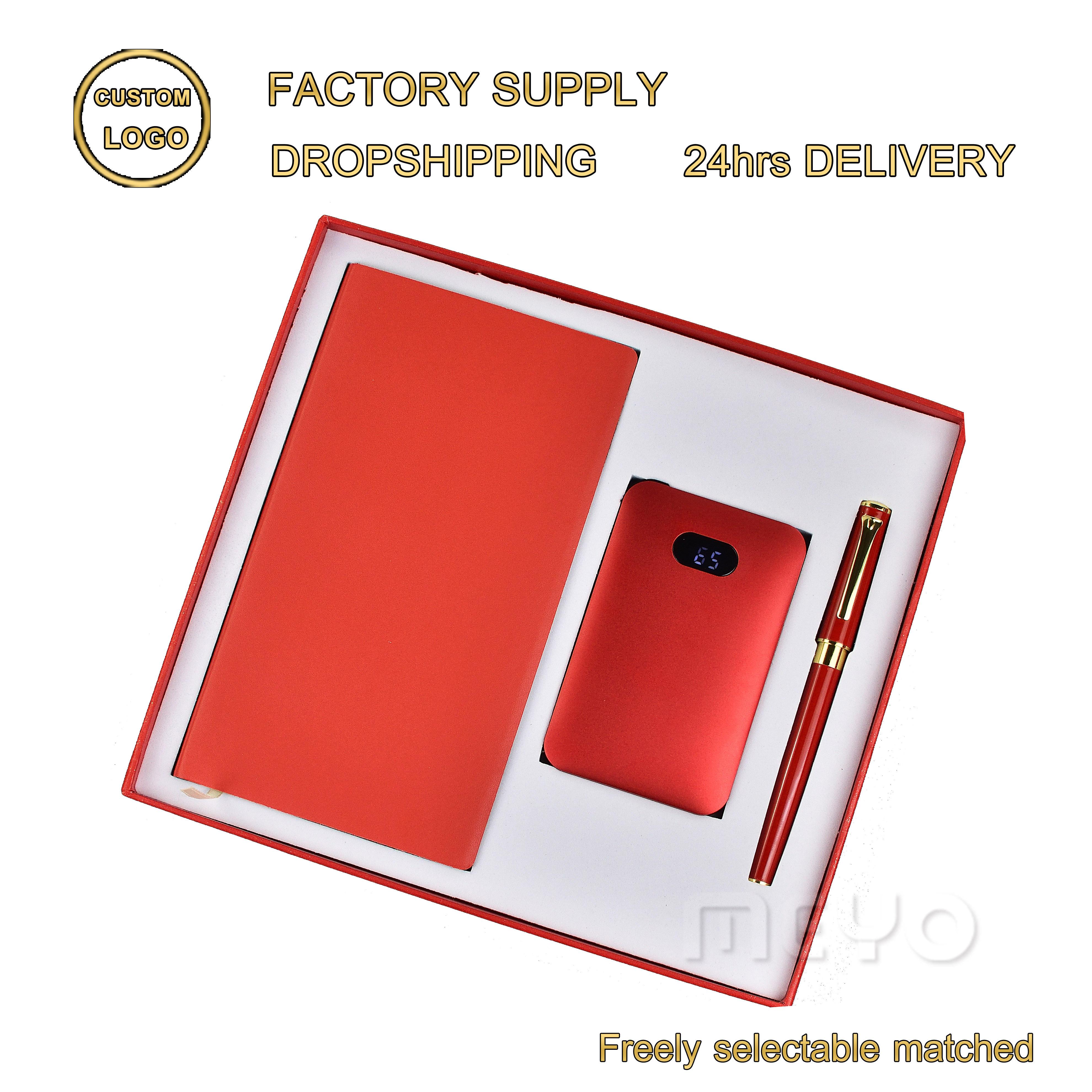 Юбилей memento возврат подарки для мужчин тетрадь запасные аккумуляторы для телефонов ручка giveaways подарочный набор
