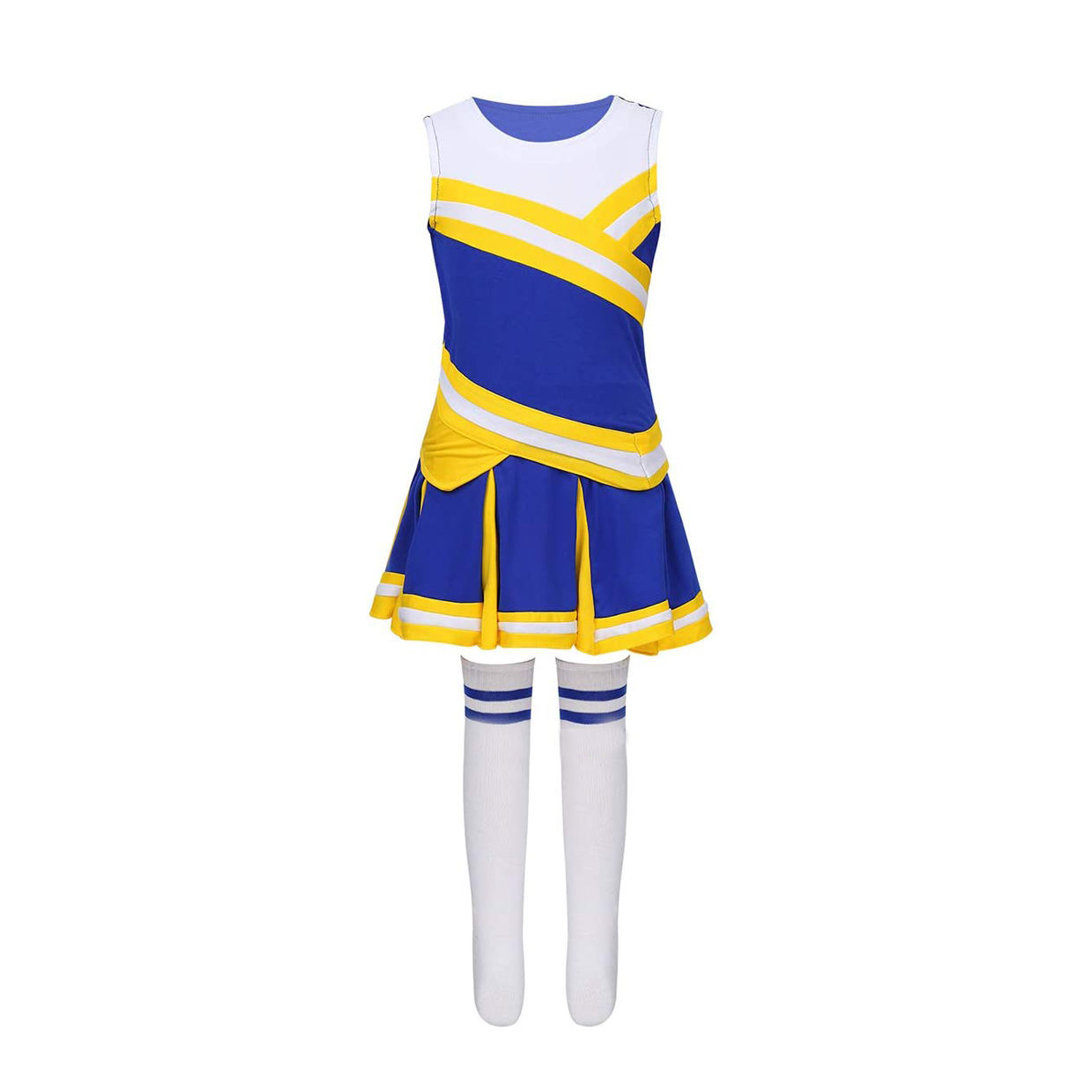 2020 new design logo printed washed cheerleading uniform