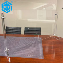 Counter Guard Protection Acrylic Barrier Shield Divisori Plexiglass Paravent plexiglas Methacrylate Screen Partition Rohs