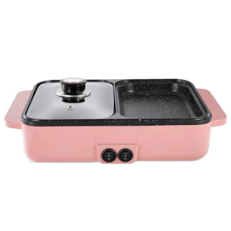 Hot Sale Multi-functional mini High Quality 2 In 1 Hot Pot And Grill