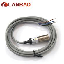 LANBAO M18 Laser Photoelectric Switch NPN PR18-BC10DNO Laser Sensor Switch  DC 10mm Distance Normally Open