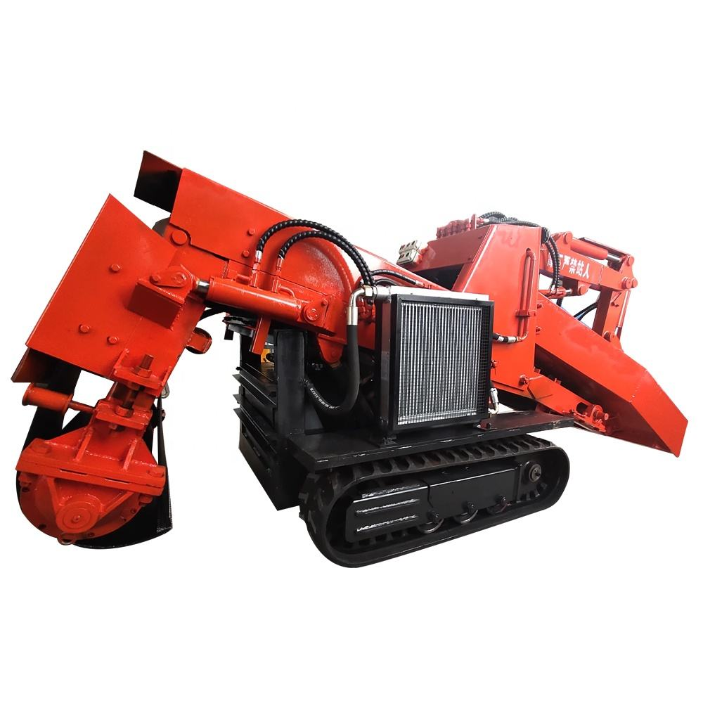 Crawler Mucking Loader For Coal Mine Explosion Proof