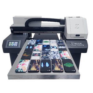 CJ Factory Supply A2 Flatbed UV Printer For Custom Varnish Phone Case Braille Printers UV