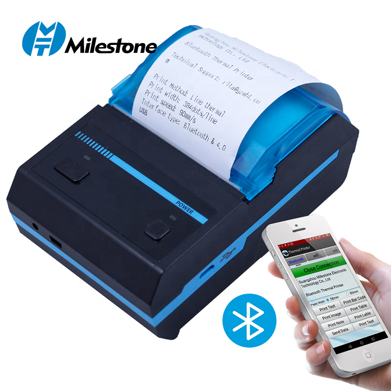 India FREE Shipment Cheap Mini Bluetooth Wireless Portable Mobile Android Thermal Printer MHT-P5801