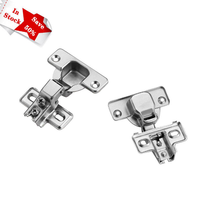Short arm Outdoor hinges American type iron nickel plated furniture cabinet hinge VT-16.012