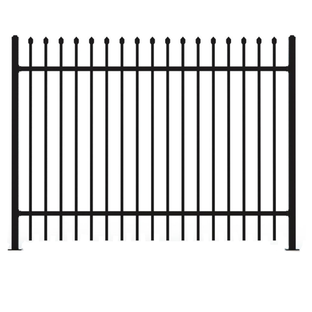 US and AU security pipe used wrought iron fencing panels