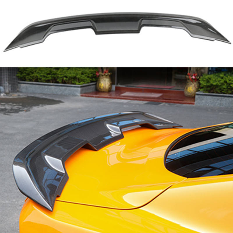 For Ford Mustang GT500 spoiler 2015 2016 2017 2018 2019 - IN High hardness and quality carbon fiber trunk wing spoiler