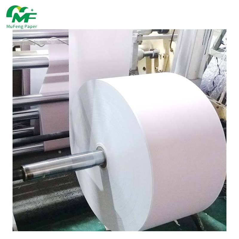 Factory Price Thermal Papers 6000m Length Thermal Copy 50gsm 55gsm 58gsm 65gsm 70gsm 80gsm White Thermal Paper Rolls