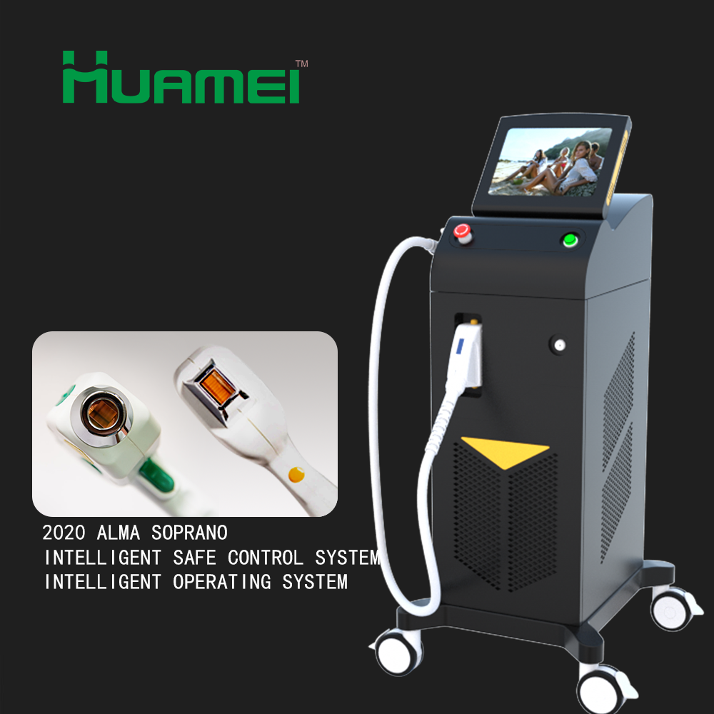 Medical CE approved laser epilation machine laser hair removal machine 1200W Soprano Alma Soprano Ice Platinum XL