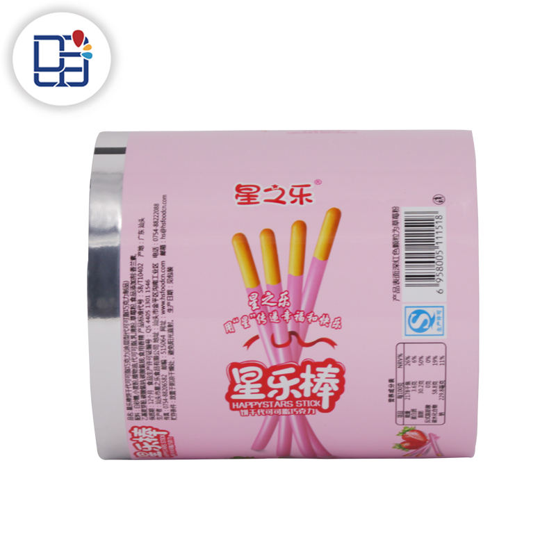 New potato chips roll tube food cover film plastic