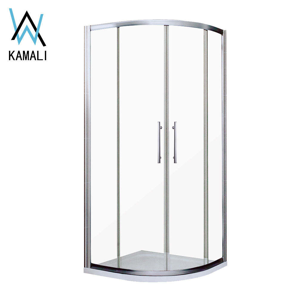 Kamali Australia Standard Pinghu Irvin Public Brushed Slide Shower Room/Shower Cabin, Box Doccia