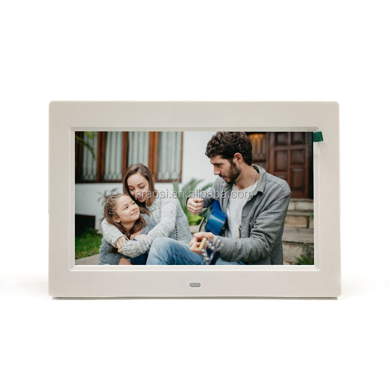 HD video player digital picture frame with photo slide show