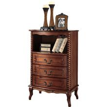 Wholesale antique living room furniture classical solid wood chest of drawers solid wood corner cabinet