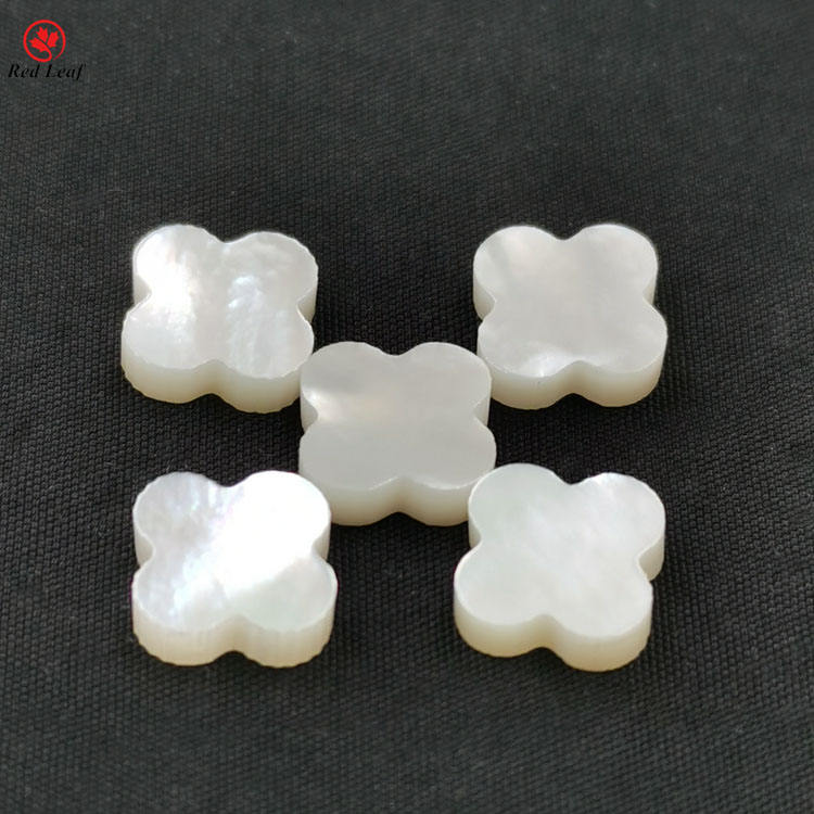 Factory Price AAAAA Mother Pearl Four Leaf Clover Natural Sea Shell Stone