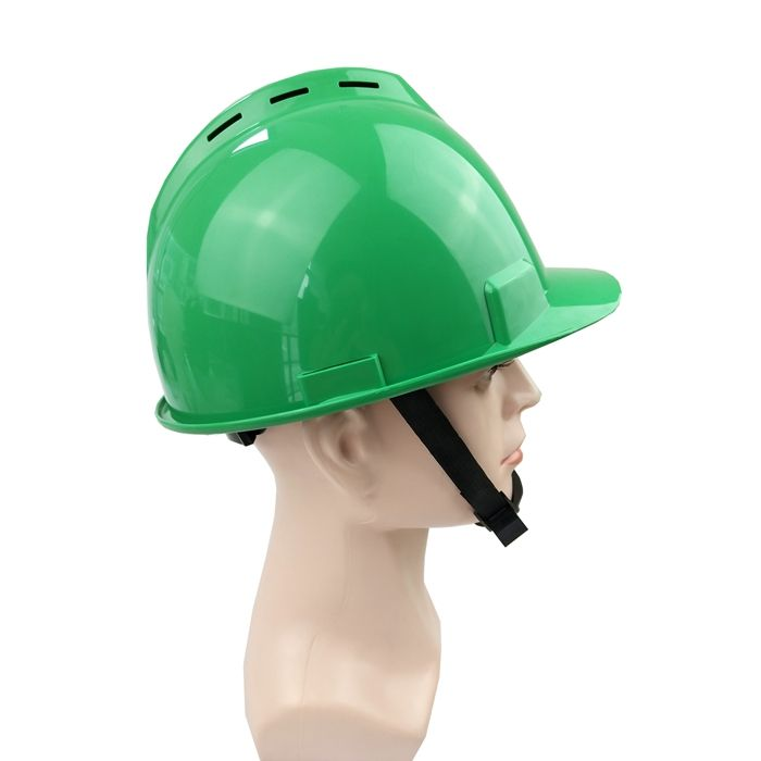 Safety Helmet with Vent EN397 Approved ABS Industrial Safety Helmet