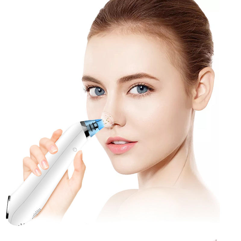 USB Rechargeable blackhead acne facial pore cleanser vacuum blackhead remover