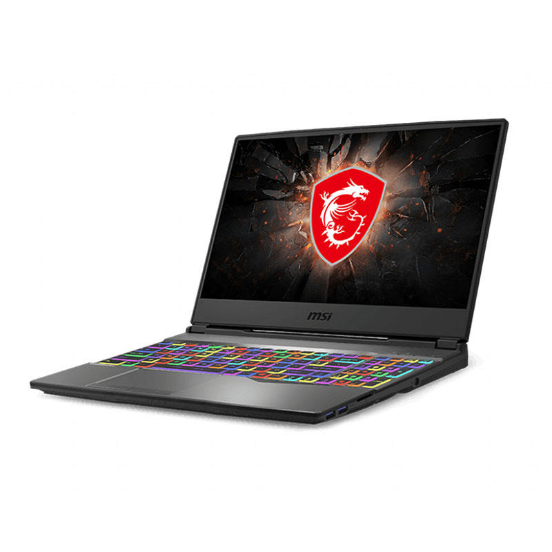 <span class=keywords><strong>Netbook</strong></span> Game MSI GP65 Leopard, Laptop 15.6 Inci I7-10750H 16G 512G SSD RTX2070 144Hz Performa Tinggi