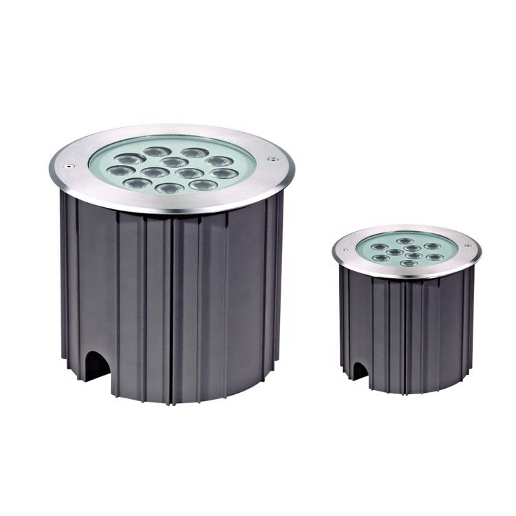 Outdoor garden square recessed 12w 18w ip67 waterproof stainless steel led underground light