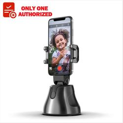 All in one 360 Degree Rotation Smart Auto Face 360 object tracking holder Mini Selfie Stick