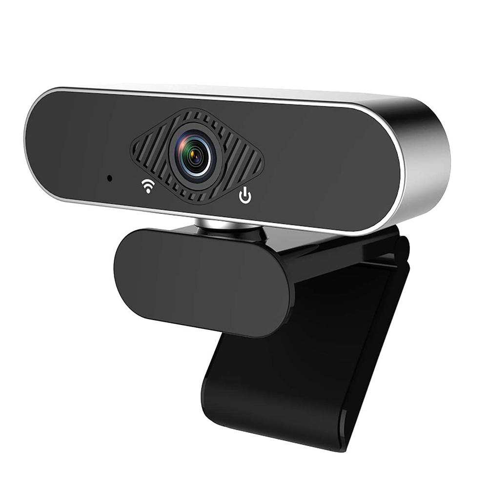 Webcam 1080P HDWeb Camera with Built-in HD Microphone for Widescreen Video